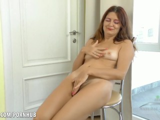Sexy naked girls beats off with a dildo gifs