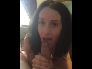 Stepmom watching stepson masturbate