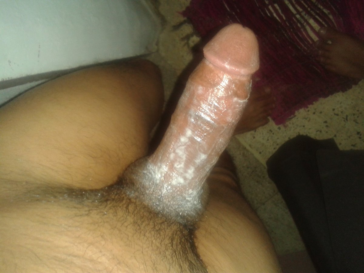 Shitty cock in pussy